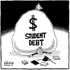 9 tips for getting out of student loan debt here!