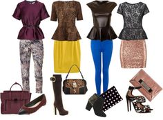 """""""""""Pep"""" talk - How to Wear Peplum Tops"""" by trinavokes on Polyvore"""