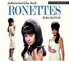 Everything You Wanted To Know About The Ronettes - Musik The Ronettes, New Music Releases, Close Your Eyes, Pop Rocks, Female Singers, Album Covers, Girl Group, Everything, News
