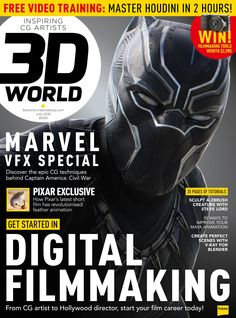 #3D World #Magazine 209. #Digital #filmmaking. From #CG #artist to #Hollywood director, start your film career today!
