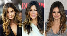 Flamboyage-Highlights Flamboyage looks like a combination of balayage and ombre. The color generally starts above the midshaft and runs through the ends. You can go natural or dramatic with both ombre and flamboyage and both those techniques require less upkeep than foiling and balayage.