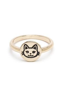 Kitty! Ring by Much Too Much on @HauteLook