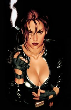 ADAM HUGHES-  Best known for his comic book art and amazing covers. He can create the strongest and sexiest women plus give his characters the greatest expressions.