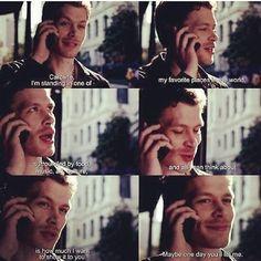 Ahhh Klaus and Caroline!