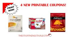 Be sure to print the 4 NEW Printable Coupons that were just released this morning! You will get $7.50 in Savings!  Click the link below to get all of the details ► http://www.thecouponingcouple.com/4-new-printable-coupons-12-9-17/ #Coupons #Couponing #CouponCommunity  Visit us at http://www.thecouponingcouple.com for more great posts!