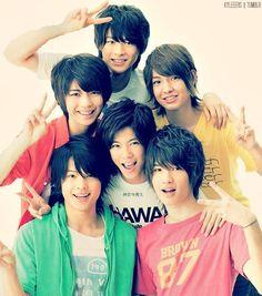 Jessie, Matsumura Hokuto, Iwahashi Genki, Jinguji Yuta, Hirano Sho, Okamoto Kauan