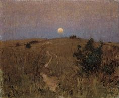 David Davies Moonrise 1893.