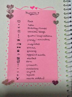 Awesome Bullet Journal key