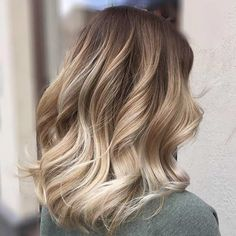 ideas hair long bob ombre hair in 2019 balayage hair, hair, hai Balayage Lob, Hair Color Balayage, Haircolor, Long Bob Balayage, Honey Balayage, Blonde Balayage On Brown Hair, Bayalage Color, Caramel Balayage, Lob Hairstyle
