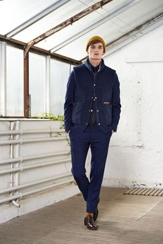 Charlie Westerberg Layers with GANT Rugger Fall/Winter 2014 image GANT Rugger Fall Winter 2014 Collection 002