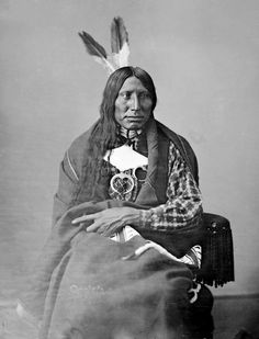 Afraid Of Eagle - An American Indian of the Oglala Nation 1872.