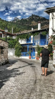 THASSOS ISLAND PANAGIA GREECE SUMMER HOLIDAY