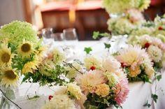 新郎新婦様からのメール あたたかな透明感  : 一会 ウエディングの花