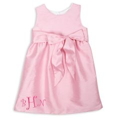 Swoon! Love this Pink Ava Dress I discovered at lollywollydoodle.com and for only $38! Click the image above to get a $5 off coupon code for your next order! Baby Girl Party Dresses, Dress Sash, Pink Silk, Coupon, Summer Dresses, Image, Fashion, Bra Tops, Moda