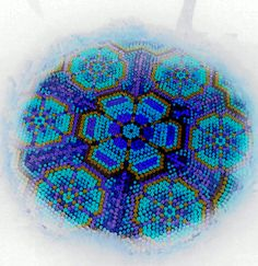 Huichol - Another nice close up on a peyote flower