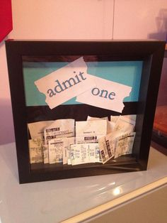#admit one  #travel # gift #idea
