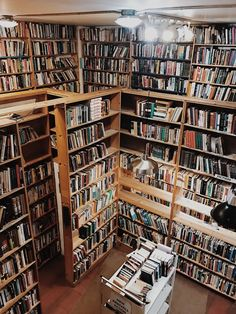 "oh-thebookfeels: ""Myopic Bookstore Chicago, IL bookstagram Dream Library, Library Books, Stack Of Books, I Love Books, Strange Places, World Of Books, Book Aesthetic, Book Nooks, Reading Nooks"