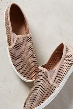 Joie Kidmore Sneakers in Gold! These look SO comfy and would go with almost anything!