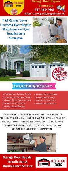 Garage Door Installation and Repair Services in Brampton