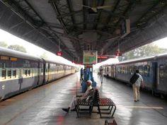 The Dehradun Railway Station...not too busy!