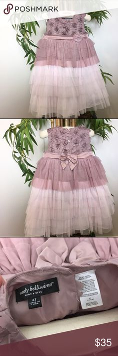 Wendy Bellissimo Girl Dress size 4 T NWOT NWOT 4 T Girl light purple layered style ❌No Trades❌ Wendy Bellissimo Dresses Formal