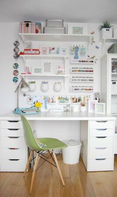 Ideas Craft Room Organization On A Budget Ikea Hacks Storage Ideas For 2019 Craft Room Tables, Ikea Craft Room, Craft Room Storage, Room Organization, Storage Ideas, Ikea Desk Storage, Ikea Room Ideas, Craft Table Ikea, Small Office Storage
