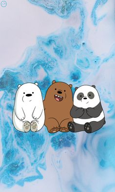 Pin Image by Gadis Humor Cute Panda Wallpaper, Cartoon Wallpaper Iphone, Bear Wallpaper, Cute Disney Wallpaper, Butterfly Wallpaper, Cute Wallpaper Backgrounds, Galaxy Wallpaper, Aesthetic Iphone Wallpaper, Aztec Wallpaper