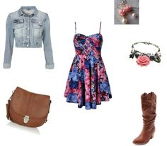 """""""Country Floral"""" by lshahan on Polyvore"""