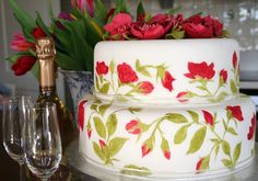 PAINTED WEDDING CAKES - Bing Images