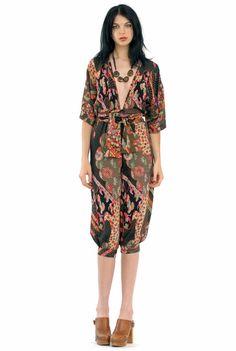 vintage kimono jumpsuit...LOVE