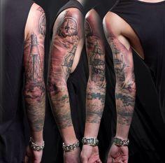 #sleeve #tattoo #arm #mystuff