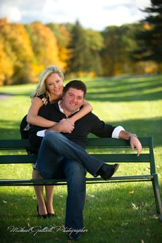 Engagement shoot at The Albany Country Club in October of 2015