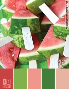 Popsicle Treat | Color Blocks Design