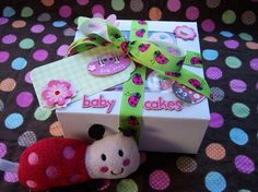 New Love Bug Baby Cakes Girly Style by mollbelldesigns on Etsy, $24.50