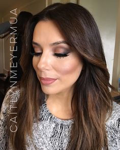 Makeup for Eva Longoria by Caitlyn Meyer @caitlynmeyermua
