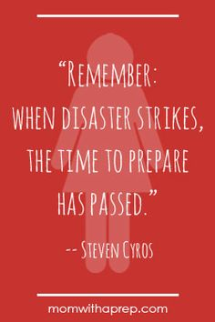 Preparedness Quotes vol. 3 @ MomwithaPREP.com