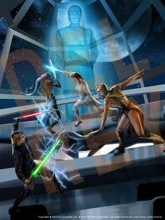 Luke Skywalker vs. Lumiya