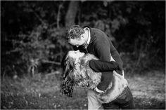 Milwaukee Wisconsin Wedding photographer Menomonee Falls WI Engagement Session | dip | fun | laughter |couples posing
