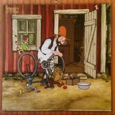 pettson naptár - Google keresés Nordic Art, Old Women, Cartoon Art, Childrens Books, Iris, Illustrations, Artists, Spring, Drawings