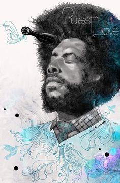 Hip Hop Portraits by Michael Molloy, via Behance Creative Poster Design, Creative Posters, Poster Designs, Creative Illustration, Illustration Art, Poster Design Inspiration, Painting Inspiration, Hip Hop Art, African American Art