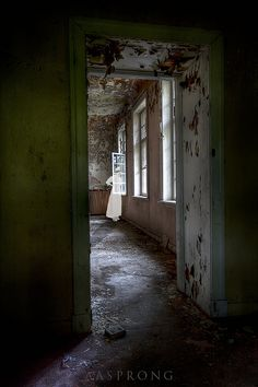 visit an abandoned state hospital. not done. Lier Mental Hospital, Norway
