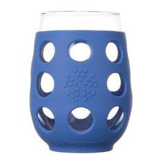 Wine Glass 11oz 2 Pack, Cobalt