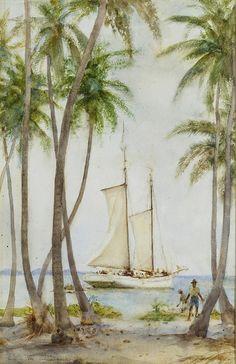Tobacco Caye, British Honduras ~ Henry Scott Tuke