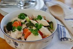 Frokostsmoothie – Berit Nordstrand I Love Food, Potato Salad, Smoothies, Food Porn, Turkey, Potatoes, Snacks, Chicken, Meat