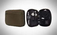 But organization pouches come to the rescue, keeping them within easy reach. Molle System, Outdoor Research, Dopp Kit, Urban Setting, Day Bag, Wet And Dry, Pouches, Tech Accessories, Organization