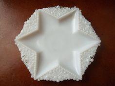 VIntgae Glass Star Dish by TheHoneysuckleTree on Etsy, $6.00