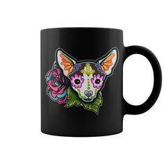 Awesome Chihuahua Lovers Tee Shirts Gift for you or your family your friend:  Mug CHIHUAHUA Skull Dog Dad Mom Lady Man Men Women Woman Wife Girl Boy Lover Tee Shirts T-Shirts