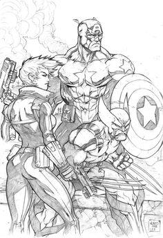 X-Men Homage by ~MiaCabrera