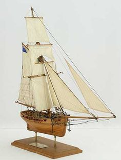 Photos of ship model English cutter FLY. The FLY was bought by the Royal Navy in The model was made to plans by the Admiralty that are kept by the National Maritime Museum in Greenwich. Wooden Ship Model Kits, Maritime Museum, Tall Ships, Model Ships, Royal Navy, Sailboat, Scale Models, Sailing Ships, Boats