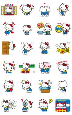 82e7a344138 画像 - Hello Kitty Animated Stickers by Sanrio - Line.